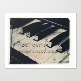 Middle C Canvas Print