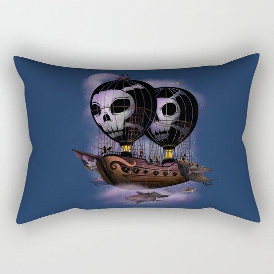 Hot Air Pirates Rectangular Pillow