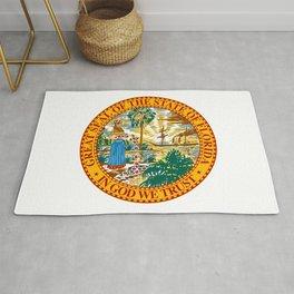 Florida State Seal Rug