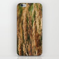 grass iPhone & iPod Skins featuring grass by Artemio Studio