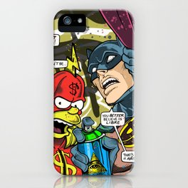 Defective Comic Issue 01 iPhone Case