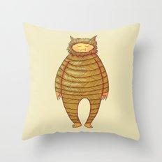 Fangs Monster Throw Pillow