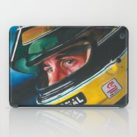 senna iPad Cases featuring Ayrton Senna by Sprite Ideas