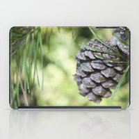 rileigh smirl iPad Cases featuring Pinecone by Rileigh Smirl