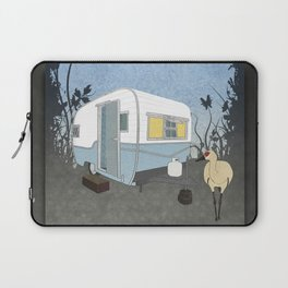 Travel Trailer Sandhill Crane Laptop Sleeve