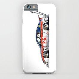 Crazy Car Art 0226 iPhone Case