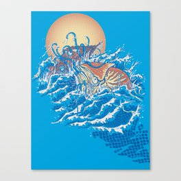 The Lost Adventures of Captain Nemo Canvas Print