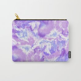 Marble Mist Lilac Carry-All Pouch