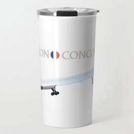 Concorde Turbojet-powered Supersonic Airliner Travel Mug