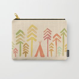 Tepee in the forest Carry-All Pouch