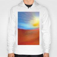sunrise Hoodies featuring Sunrise by Rafael Salazar