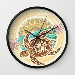If We Tollerate This Eco Turtle Wall Clock