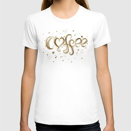 Coffee Molecules Caffeine T-shirt