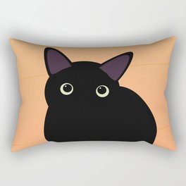Cafe Kitty Rectangular Pillow