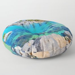 Lake Tahoe Floor Pillow