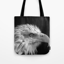 Majestic Bald Eagle Tote Bag