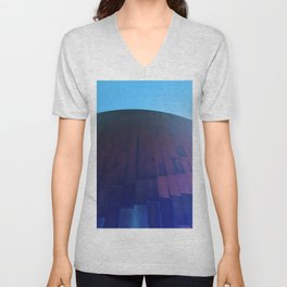 Wall Meets Sky Unisex V-Neck