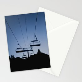 Mammoth Mountain Silhouette Stationery Cards