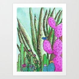 fertile desert Art Print