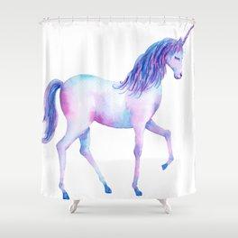 Watercolor Unicorn 2 Shower Curtain