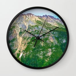 North Cascades northern view Wall Clock