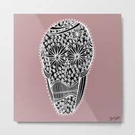 """""""Viva Robotico 20"""" - skulls Metal Print"""