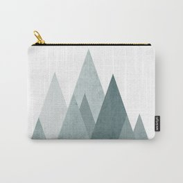 Mid Century Scandinavian Mountain Carry-All Pouch
