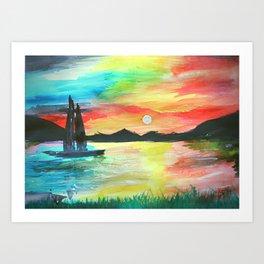 Landscape Art Art Print