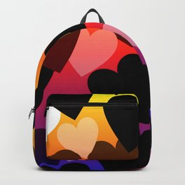 Bright Hearts Design Backpack