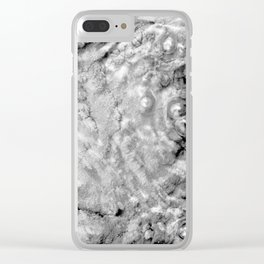 Boiling thermal water Clear iPhone Case