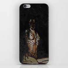 Untamed (woman with tiger features)  iPhone & iPod Skin