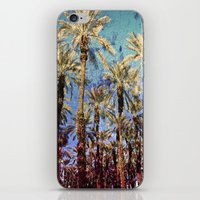 palm trees iPhone & iPod Skins featuring Palm Trees by Loveurstyle
