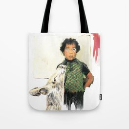 A BOY IN THE WILD Tote Bag