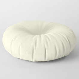 Pale Sweet Corn Yellow  Fashion Color Trends Spring Summer 2019 Floor Pillow