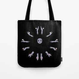 Enchantress Sees All Tote Bag