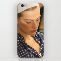 sleeping beauty iPhone & iPod Skins featuring sleeping beauty by EnglishRose23