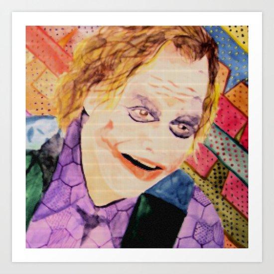 Joker Gobelin Art Print
