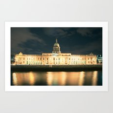 The Custom House Dublin Art Print