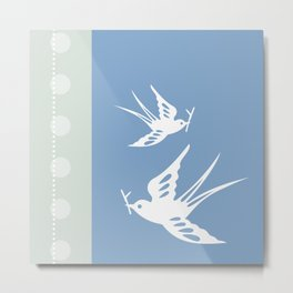 Your indies swallows Metal Print