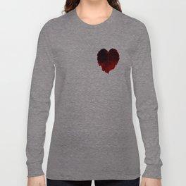 Heart Leaf Long Sleeve T-shirt