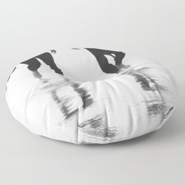 Catch a wave III Floor Pillow