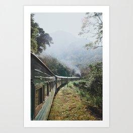 Train Rides in Sri Lanka Art Print