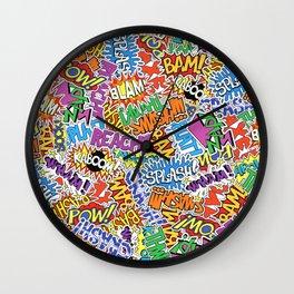 Comic Madness Wall Clock