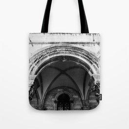 Croatian Columns Tote Bag