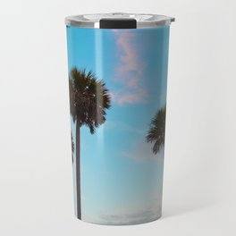 Palm Tree Silhouettes Travel Mug