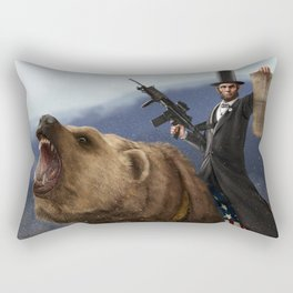 Abraham Lincoln USA Accomplishments Rectangular Pillow