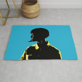 Katy Perr Portrait Art - This Is How We Do (Music Video)  Rug