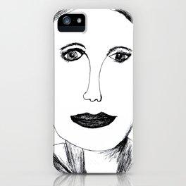 Andrea Riseborough iPhone Case