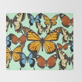 Mariposas- Butterflies Throw Blanket