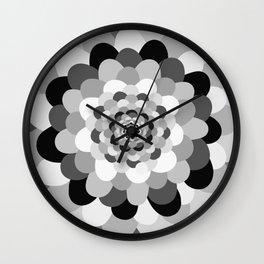 Bloom pattern Wall Clock